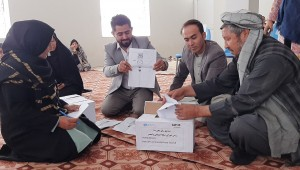 Hand in Hand Afghanistan Organization (HIHAO) organizes formation of the Inclusive Community Peace Council (CPC) in Shahrake Wali Asr of Mazar-e-Sharif city, Balkh province