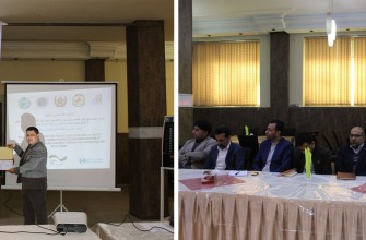 Hand in Hand Afghanistan organizes the project reporting and closeout event in Herat province
